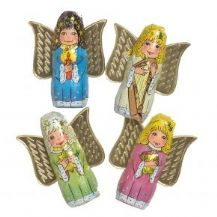 Storz Chocolate Foiled Angel Tree Decoration